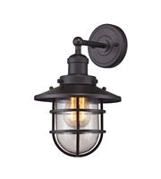 Picture for category Wall Sconces 1 Light With Oil Rubbed Bronze Finish Medium Base 8 inch 60 Watts - World of Lamp