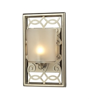 Picture for category Bathroom Vanity 1 Light With Aged Silver Finish G9 6 inch 60 Watts - World of Lamp