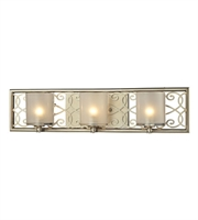 Picture for category Bathroom Vanity 3 Light With Aged Silver Finish G9 23 inch 180 Watts - World of Lamp