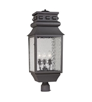 Picture for category Outdoor Post 3 Light With Charcoal Finish Candelabra Base 29 inch 180 Watts - World of Lamp