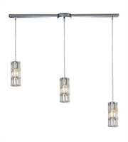 Picture for category Chandeliers 3 Light With Polished Chrome Finish Candelabra 36 inch 180 Watts - World of Lamp