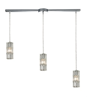Picture for category Chandeliers 3 Light With Polished Chrome Candelabra 36 inch 180 Watts - World of Lamp
