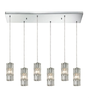 Picture for category Chandeliers 6 Light With Polished Chrome Candelabra 30 inch 360 Watts - World of Lamp