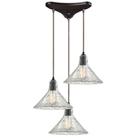 Picture for category Pendants 3 Light With Oil Rubbed Bronze Finish Medium Base 10 inch 180 Watts - World of Lamp