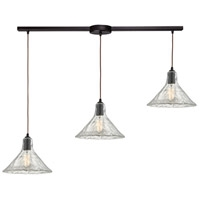 Picture for category Pendants 3 Light With Oil Rubbed Bronze Finish Medium Base 36 inch 180 Watts - World of Lamp