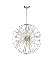 Picture for category Pendants 15 Light With Polished Chrome Finish G9 32 inch 900 Watts - World of Lamp