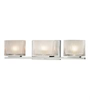 Picture for category Bathroom Vanity 3 Light With Polished Chrome Finish G9 20 inch 180 Watts - World of Lamp
