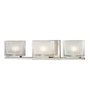 Picture for category Bathroom Vanity 3 Light With Brushed Nickel Finish G9 20 inch 180 Watts - World of Lamp
