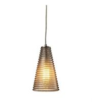 Picture for category Pendants 1 Light With Satin Nickel Finish Medium Base 6 inch 60 Watts - World of Lamp