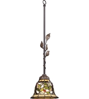Picture for category Pendants 1 Light With Tiffany Bronze Finish Medium Base 7 inch 75 Watts - World of Lamp