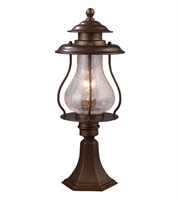 Picture for category Outdoor Post 1 Light With Coffee Bronze Finish Medium Base 20 inch 60 Watts - World of Lamp