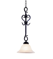 Picture for category Pendants 1 Light With Matte Black Finish Medium Base 10 inch 75 Watts - World of Lamp
