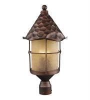 Picture for category Outdoor Post 3 Light With Antique Copper Finish Candelabra 26 inch 180 Watts - World of Lamp