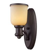 Picture for category Wall Sconces 1 Light With Oiled Bronze Finish Medium Base 5 inch 100 Watts - World of Lamp