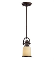 Picture for category Pendants 1 Light With Oiled Bronze Medium Base 5 inch 100 Watts - World of Lamp