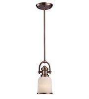 Picture for category Pendants 1 Light With Antique Copper Finish Medium Base 5 inch 100 Watts - World of Lamp