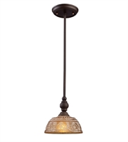 Picture for category Pendants 1 Light With Oiled Bronze Finish Medium Base 8 inch 60 Watts - World of Lamp