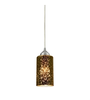 Picture for category Pendants 1 Light With Polished Chrome Finish Sage Mercury Mirror Glass Medium Base 4 inch 60 Watts - World of Lamp