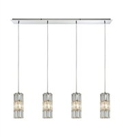 Picture for category Pendants 4 Light With Polished Chrome Finish Medium Base 47 inch 240 Watts - World of Lamp