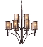 Picture for category Chandeliers 12 Light With Aged Bronze Finish Medium Base 36 inch 720 Watts - World of Lamp