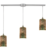 Picture for category Pendants 3 Light With Satin Nickel Finish 3-D Starburst Medium Base 36 inch 180 Watts - World of Lamp
