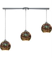Picture for category Pendants 3 Light With Polished Chrome Finish 3-D Starburst Medium Base 36 inch 300 Watts - World of Lamp