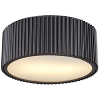 Picture for category Flush Mounts 2 Light With Oil Rubbed Bronze Finish Medium Base 13 inch 120 Watts - World of Lamp
