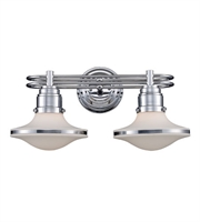 Picture for category Bathroom Vanity 2 Light With Polished Chrome Finish Medium Base 18 inch 120 Watts - World of Lamp