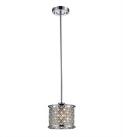 Picture for category Pendants 1 Light With Polished Chrome Finish Medium Base 7 inch 60 Watts - World of Lamp