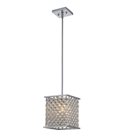 Picture for category Pendants 1 Light With Polished Chrome Finish Medium Base 8 inch 60 Watts - World of Lamp