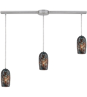 Picture for category Pendants 3 Light With Satin Nickel Finish Medium Base 36 inch 180 Watts - World of Lamp
