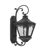 Picture for category Wall Sconces 1 Light With Charcoal Finish Medium Base 20 inch 60 Watts - World of Lamp