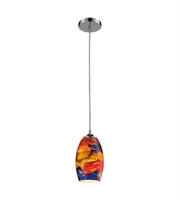 Picture for category Pendants 1 Light With Polished Chrome Finish Medium Base 5 inch 100 Watts - World of Lamp