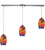 Picture for category Pendants 3 Light With Polished Chrome Finish Medium Base 36 inch 300 Watts - World of Lamp