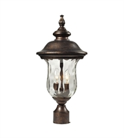 Picture for category Outdoor Post 2 Light With Regal Bronze Finish Candelabra 21 inch 120 Watts - World of Lamp