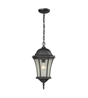 Picture for category Outdoor Pendant 1 Light With Weathered Charcoal Finish Medium Base 9 inch 100 Watts - World of Lamp