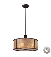 Picture for category Pendants 4 Light With Aged Bronze Finish Medium Base 19 inch 240 Watts - World of Lamp