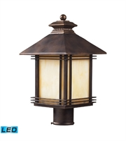 Picture for category Outdoor Post 1 Light LED With Hazelnut Bronze Finish 18 inch 13.5 Watts - World of Lamp