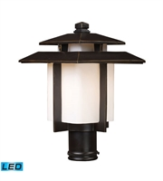 Picture for category Outdoor Post 1 Light LED With Hazelnut Bronze Finish 15 inch 13.5 Watts - World of Lamp