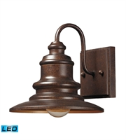 Picture for category Wall Sconces 1 Light LED With Hazelnut Bronze Finish 8 inch 13.5 Watts - World of Lamp