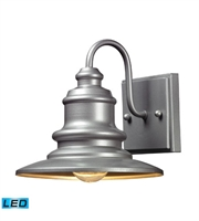 Picture for category Wall Sconces 1 Light LED With Matte Silver Finish 8 inch 13.5 Watts - World of Lamp