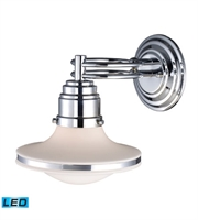 Picture for category Wall Sconces 1 Light LED With Polished Chrome Finish 8 inch 13.5 Watts - World of Lamp