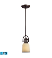 Picture for category Pendants 1 Light LED With Oiled Bronze Finish 5 inch 13.5 Watts - World of Lamp