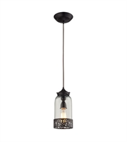 Picture for category Pendants 1 Light With Oiled Bronze Finish Medium Base 6 inch 100 Watts - World of Lamp