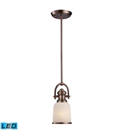Picture for category Pendants 1 Light LED With Antique Copper Finish 5 inch 13.5 Watts - World of Lamp