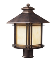 Picture for category Outdoor Post 1 Light With Hazelnut Bronze Finish Medium Base 18 inch 100 Watts - World of Lamp