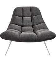 Picture for category Adesso GR2004-10 Chairs Dark Grey Soft Textured Fabric Steel Bartlett
