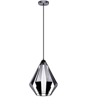 Picture for category Eglo Lighting 200752A Pendants Black Chrome Iron Taroca