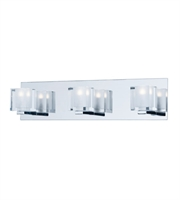 Picture for category ET2 Lighting E32033-18PC Bath Lighting Polished Chrome Steel Blocs LED