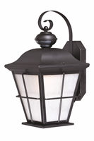 Picture for category Vaxcel Lighting T0246 Outdoor Lanterns Dark Bronze Steel New Haven